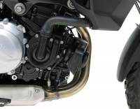 Parts - Electrical, Lighting & Gauges - Denali  - DENALI SoundBomb Compact Horn and Mount: BMW F850GS, F750GS