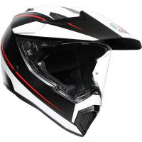 AGV - AGV AX9 Pacific Road Helmet [Black/White/Red]