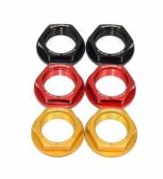 Ducabike - Ducabike Rear Wheel Nut Set: Ducati Scrambler 800-1100-Sixty2, Monster 695-696-797, Sport Classic, GT1000