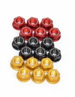 Ducabike - Ducabike Billet Rear Sprocket OEM Cush Drive Nuts:[Models shown in the details] 6 Piece Kit