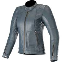 Women's Apparel - Women's Leather Jackets - Alpinestars - Alpinestars Stella Gal Leather Indigo Jacket
