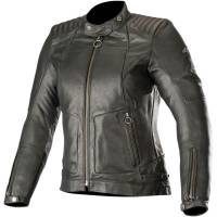 Women's Apparel - Women's Leather Jackets - Alpinestars - Alpinestars Stella Gal Leather Black Jacket