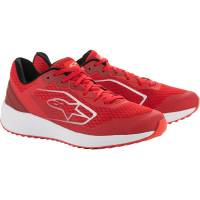 Men's Apparel - Men's Footwear - Alpinestars Apparel - Alpinestars Meta Road Shoes Red/White