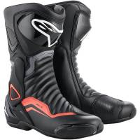Men's Apparel - Men's Footwear - Alpinestars - Alpinestars SMX-6 v2 Boots Black/Grey/Red