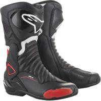 Men's Apparel - Men's Footwear - Alpinestars Apparel - Alpinestars SMX-6 v2 Boots Black/Red