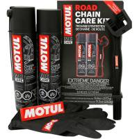 Tools, Stands, Supplies, & Fluids - Motul - Motul Chain Care Kit: Road