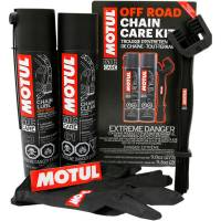 Tools, Stands, Supplies, & Fluids - Cleaning Supplies - Motul - Motul Chain Care Kit: Off Road