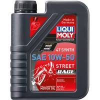 Tools, Stands, Supplies, & Fluids - Liqui Moly - Liqui Moly 10W-50 Street Synthetic 4T Engine Oil [1 Liter]