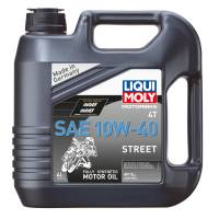 Tools, Stands, Supplies, & Fluids - Liqui Moly - Liqui Moly 10W-40 Street 4T Engine Oil [4 Liter]