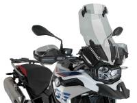 Puig - Puig Touring Windscreen with Visor [Smoke]: BMW F850GS