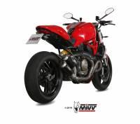 Mivv Exhaust - Mivv MK3 Stainless Steel Exhaust: Ducati Monster 1200/S '14-'16 - Image 4