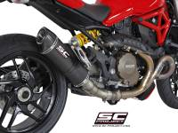 Exhaust - Mid Pipes - SC Project - SC Project Oval Exhaust: Ducati Monster 1200/S '14-'16