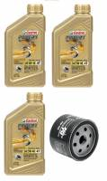 Tools, Stands, Supplies, & Fluids - Castrol - Castrol Power 1 Oil Change Kit 5W-40: BMW F850GS, F750GS