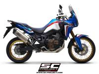 SC Project - SC Project Adventure FULL SYSTEM Exhaust: Honda Africa Twin CRF1000L