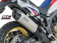 SC Project - SC Project Adventure Slip-on Exhaust: Honda Africa Twin CRF1000L