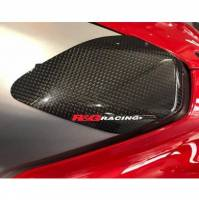 Parts - Protection - R&G - R&G Tank Sliders Carbon Fiber: Ducati Panigale V4/S