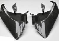 Shift-Tech - Shift-Tech Carbon Fiber Inner Fairing Air Extractor Set: Ducati Panigale V4/S