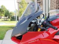 Parts - Body - Shift-Tech - Shift-Tech Carbon Fiber Headlight Fairing: Ducati Panigale V4/S