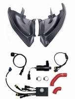 Parts - Engine & Performance - MONZATECH - MONZATECH MWP SUPER-SMART PLUG'N'Play COOLING SYSTEM KIT: Ducati Panigale V4/V4S, 18-19 [Complete Package] NEVER RUN HOT AGAIN!