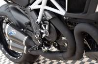 Termignoni - Termignoni Full Exhaust System with Black Ceramic Coating: Ducati Diavel '11-'17 - Image 4