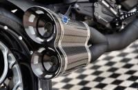 Termignoni - Termignoni Full Exhaust System with Black Ceramic Coating: Ducati Diavel '11-'18 - Image 6