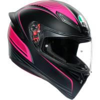 Apparel & Gear - Helmets & Accessories - AGV - AGV K1 Warmup Helmet: Black/Pink