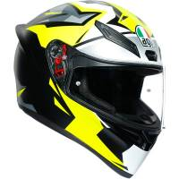 AGV - AGV K1 Mir 2018 Helmet: Black/Yellow