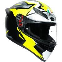 Apparel & Gear - Helmets & Accessories - AGV - AGV K1 Mir 2018 Helmet: Black/Yellow