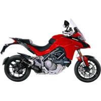 Parts - Exhaust - Leo Vince - LeoVince Carbon Fiber Pro Slip-On Exhaust: Ducati Multistrada 1260