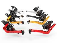 Ducabike - Ducabike Adjustable Billet Rear Sets: Ducati Diavel 1260