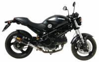 Mivv Exhaust - Mivv GP Carbon Slip-On Exhaust: Ducati Monster 695