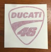 "Stickers - Ducati Logo ""46"""