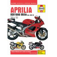 Tools, Stands, Supplies, & Fluids - Haynes Books - Haynes Motorcycle Repair Manual: Aprilla