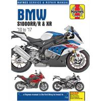 Tools, Stands, Supplies, & Fluids - Haynes Books - Haynes Motorcycle Repair Manual: BMW S1000RR/R, S1000XR
