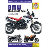 Books & Repair Manuals - Haynes Books - HAYNES Motorcycle Repair Manual — BMW F800S, F650GS, F800GS, F700, F800ST, F800R