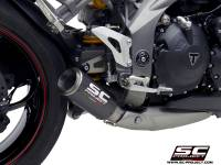 SC Project - SC Project CR-T Exhaust: Triumph Speed Triple RS/S