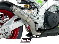 Parts - Exhaust - SC Project - SC Project GP70-R Exhaust: Aprilla Tuono V4 1100 Factory/RR
