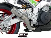 SC Project - SC Project CR-T Exhaust: Aprilla RSV4 RF/RR [2017], Tuono V4100/1100 Factory ['17-19]