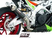 SC Project - SC Project GP65 Exhaust: Aprilla Tuono V4 1100 Factory/RR