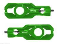 Parts - Drive Train - Bonamici Racing - Bonamici Aluminum Chain Adjuster Set: Kawasaki Ninja ZX-10R/RR