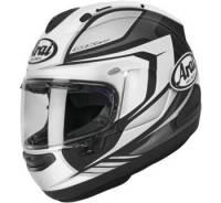 Apparel & Gear - Helmets & Accessories - Arai - Arai Corsair-X Bracket Helmet [White Frost]