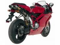 Mivv Exhaust - MIVV GP Carbon Exhaust: Ducati 749-999