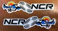 Stickers, Patches, & Toys - Stickers - NCR Sticker [Clear]