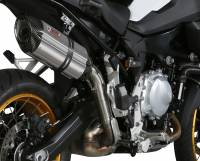 Mivv Exhaust - Mivv Suono Stainless Steel Exhaust: BMW F850GS, F750GS