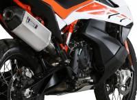 Mivv Exhaust - MIVV Speed Edge Stainless Steel Exhaust: KTM 790 Adventure