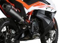Mivv Exhaust - MIVV Oval Carbon Exhaust: KTM 790 Adventure