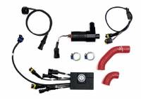 Parts - Engine & Performance - MONZATECH - MONZATECH MWP SUPER-SMART PLUG'N'Play COOLING SYSTEM KIT CONTROLLED BY AN INDEPENDENT ECU: Ducati Panigale V4/S  NEVER RUN HOT AGAIN!