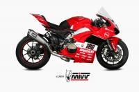 Mivv Exhaust - MIVV Titanium Full System: Ducati Panigale V4/S
