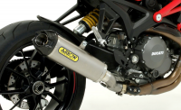 Arrow - Arrow Works Exhaust: Ducati Monster 1100 EVO