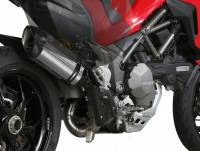 Exhaust - Mid Pipes - Mivv Exhaust - Mivv Suono Stainless Kat Delete Exhaust Multistrada 1200-1260 '15-'19